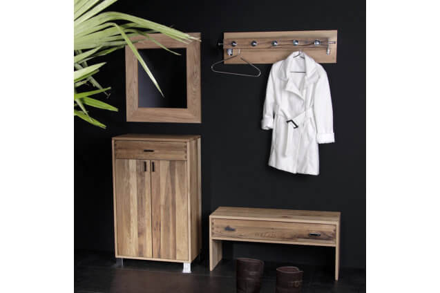 garderobe sumpfeiche m bel ab cherli. Black Bedroom Furniture Sets. Home Design Ideas